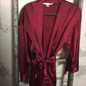 Victoria's Secret satin robe one size